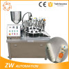手クリーム色アルミニウム積層物の管の詰物およびシーリング機械