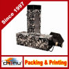 Caixas de presente impressas costume do vinho do cartão (2339)