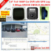 2.0 Google GPS Map Play Back GPS Tracking Route Car DVR com 5.0mega Car Digential Video Recorder, Dash Camera, H264, HDMI para fora, Car Black Box DVR-2001g