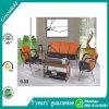 주황색 베스트 최신 디자인 응접실 소파 고정되는 실내 가구 호텔 소파