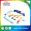 Forme diverse d'impression de livre pour Emulison Color Chart Card