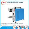 Máquina da marcação do laser da fibra da elevada precisão 3D mini para a etiqueta do metal/aço inoxidável /Plastic