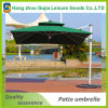 La luz solar Patio Sombrilla con soporte lateral 10' colgantes mercado al aire libre Paraguas