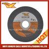 Disco de corte de metal de acero inoxidable de 4,5 pulgadas 115x1x22mm / disco de corte de acero abrasivo