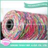 Filato di lavoro a maglia in linea del lusso del cono del rayon dei reticoli del filato di sconto
