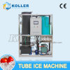 Máquina del tubo del hielo de 2 toneladas/día con el sistema de refrigeración por aire