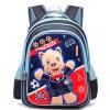 Backpack школы шаржа симпатичный для девушки и мальчика