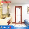 Porte en verre en aluminium intérieure de salle de bains pour des matériaux de Ddcoration