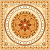 Patrón de diseño de la serie de alfombras Suelo del azulejo 1200 * 1200mm