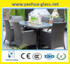 5mm Table Top Tempered Glass/Toughened Glass /Safety Glass per Outdoor Furnitures