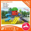 Bezirk-angemessenes Garten-im Freienspielzeug-Plastikspielplatz-Plättchen