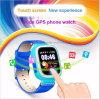 子供または子供の安全D15のための携帯用SosボタンGPSの追跡者の腕時計
