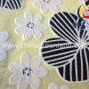 As rendas de poliéster algodão Brnt tecido para fora para Mulher Dress (GLLML120)