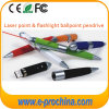 Pen colorido da caneta Metal Laser Point Customizado USB Pendrive (EP020)