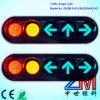 Semáforo de vehículo del claro LED/señal de tráfico que contellean planos con la lente convexa