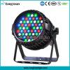 54*3W RGBW Zoom étanches IP65 dirigé par la lumière