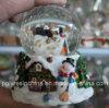 De hars Aangepaste Ambachten van Kerstmis van de Bol van de Sneeuw van de Sneeuwman