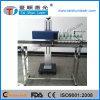 Machine d'inscription de laser de borne de CO2 pour le code en plastique de bouteille/datte