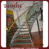 Los peldaños de vidrio al aire libre del metal Escaleras precios usados (DMS-2009)
