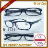 Dropshipping gros châssis en plastique transparent de lunettes de lecture (R14134)
