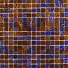 Colore di vetro del Brown delle mattonelle di mosaico di colore della miscela (MC209)