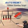 Reinicialização automática de captação do rotor Plinking Metal alvo girando a espingarda pistola de ar de caça