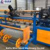 Doppelter Draht-automatische Kettenlink-Zaun-Maschine