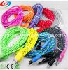 Кабель USB, красочные ткани/питающий кабель USB