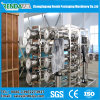 10000 litros/transportaron en contenedores la depuradora/el RO industrial