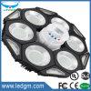 Nuevo tipo modular de 240W Plus 18W LED de luz de emergencia OVNI aumentando la luz de emergencia multifunción regulable de sensor de microondas
