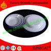 Assiette en acier au carbone en émail Vaisselle Assiette / Pie Plat / Assiette de fruits
