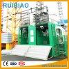 Élévateur de passager de cage de Gjj Sc200/200td de prix usine double
