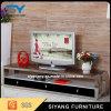 Basamento di vetro TV del Governo dell'affissione a cristalli liquidi TV della mobilia del salone