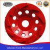125mm Diamond Swirl Cup Copa roda roda para betão e pedra