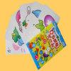 Cartões instantâneos educacionais do aprendizado de línguas da família feliz