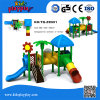 Das crianças ao ar livre grandes do teatro do equipamento do jogo da criança campo de jogos ao ar livre atrativo