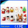 Regalo de Navidad Capacidad real de Santa Claus 4GB USB Flash Drive