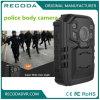 1296p防水完全なHDの再コードの警察のボディによって身に着けられているカメラの広い程度の夜間視界IP66