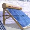 Подогреватель воды домашнего низкого давления пользы трубчатый солнечный