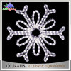 2017 New Cold White Holiday Décoration LED Rope Snowflake Light