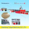 WPC drei Schichten, die Schaumgummi-Platten-Herstellung-Maschine enthäuten