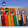 China Película azul Rollo de PVC transparente flexible
