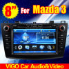 8 '' estereofonia del coche DVD GPS de HD para Mazda 3