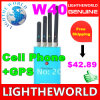 W40熱い販売法の小型携帯用反GSM/CDMA/Dcs/Phs/3G/WiFi妨害機の携帯電話