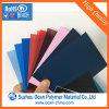 Folha de plástico de tamanho A4 colorido Folha de PVC rígido transparente para cobertura de encadernação