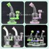 Tubulação de água de fumo de vidro nova do projeto 8inches Handblown