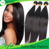 まっすぐの7A等級のペルーの人間の毛髪の編むバージンの毛