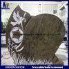 De Grafsteen van Frankrijk van de metselaar met het Snijden van de Lijn in Juparana Indiër