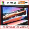 P6 2145X415mm Full-Colour internos RJ45 e tela de indicador programável do diodo emissor de luz da informação de rolamento do USB
