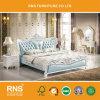 A1033 고대 여왕 목제 침대 디자인